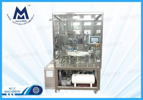 Prefilling Filling and Filling Machine(Transparent viscous liquids such as ester acids)