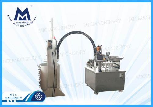 Semi-automatic Hard Tube Silicone Filling Machine