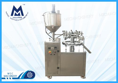 Semi-automatic Tube Filling Sealing Machine(Food, Daily chemical, Chemical, Medical etc )