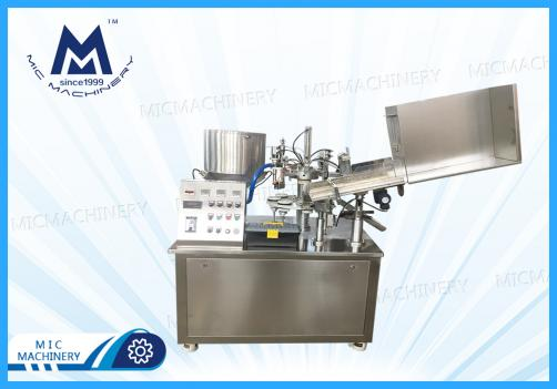 Small Automatic Soft Tube Filling Machine(Soft and composite tube filling and sealing )