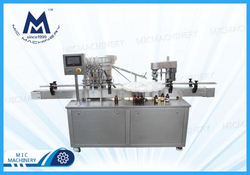Glass Bottle Filling Capping Machine(Essence, Essential oil etc  )