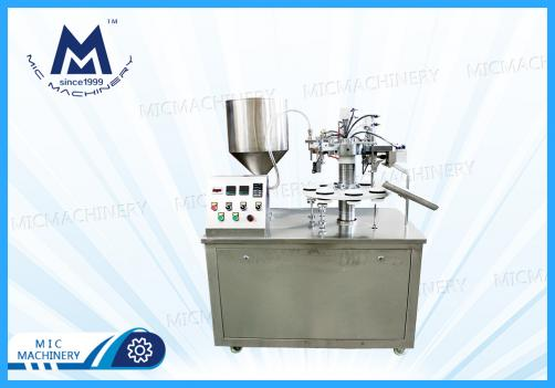 Semi-auto Tube Filling Sealing Machine ( Chemistry, Daily chemical products, Oinment, Resin, Shoe polish glue etc )