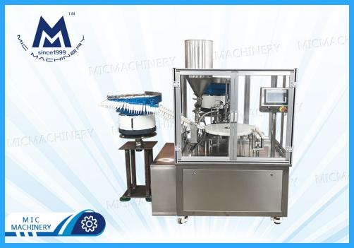 Plastic Syringe Filling Machine with Dust Cover(Various syringes, Boosters, Injection tubes)