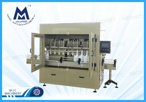 Detergent, Insecticide Gravity Filling Machine ( Barrels, Jars and Bottles of different sizes, shapes and volumes)