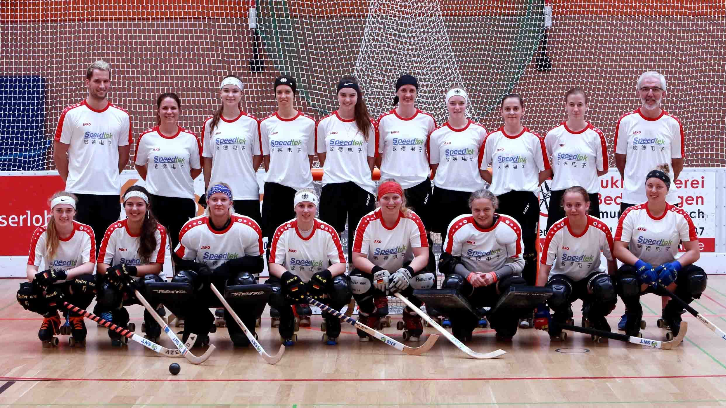 Our Sponsorship Contract To The German Women's National Roller Hockey Team Extended