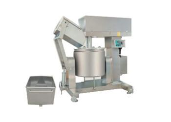 High speed fish meat mixing machine