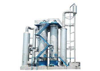 Fish meal concentration evaporator
