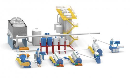 Fish meal and fish oil production line