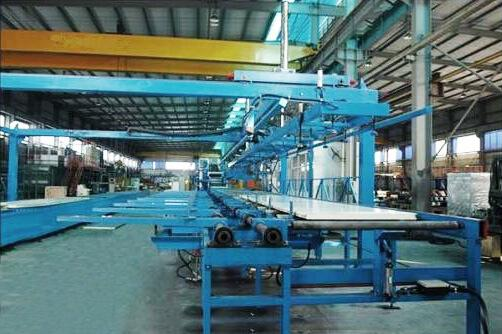 Automatic Stack Machine For Sandwich Panel