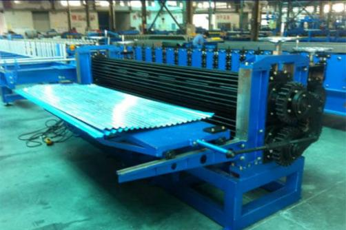 Barrel Corrugated Roll Forming Machine