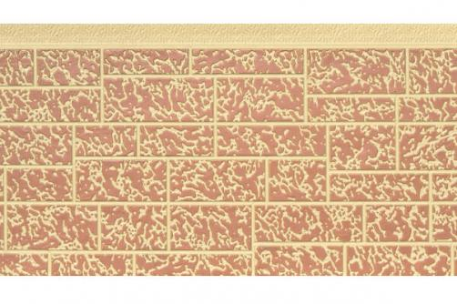 Exterior stone pattern wall panel