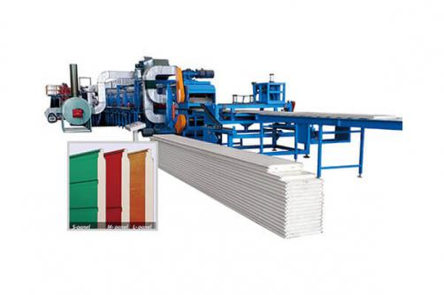 Garage Sectional Door Panel Machine
