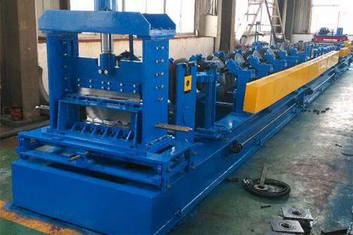 Slot Cable Tray Roll Forming Machine