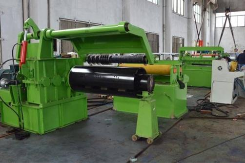 ZJX0.2-1.5X1250 Simple Hydraulic Slitting Line2