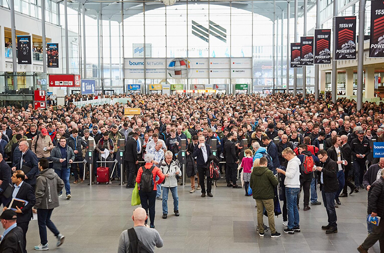 Congratulations on the success of Munich Bauma Exhibition in 2019