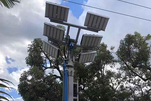 AC240V 400W LED flood light used on mobile light tower in Australia