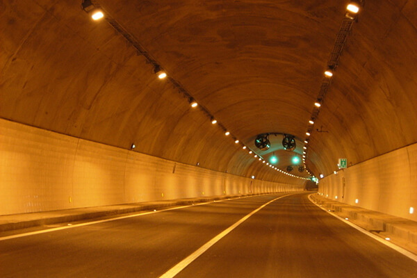 Tunnel light JR309-100W applied to tunnel construction in Putuo District,Shanghai