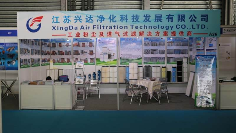 Our company participates in the Asian Filter and Separation Industry Exhibition!