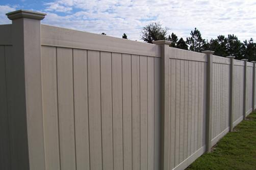 Factory Price Strong Customizability Vinyl White Privacy Fence