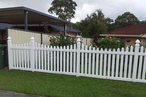 UV Protection Eco Friendly New Style High Quality Pvc Picket Fence