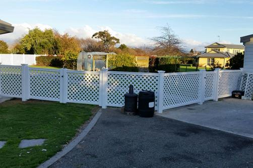 Guaranteed Quality New Type Widely Used White Pvc Lattice Fence Panels