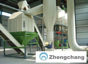 Straw pelleting and briquetting fuel engineering