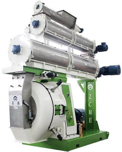 The largest output pellet mill model 1208 in China