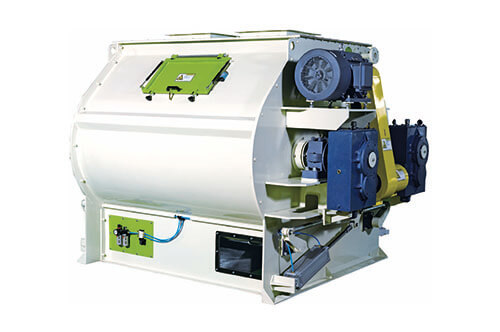 SSHJs series 4m³-10m³double-shaft efficient mixer