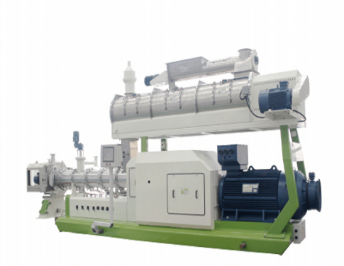 High Efficiency SPHS 130×2 Double-screw Aquatic Feed Extruder