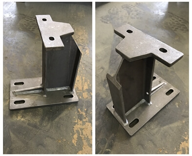 Heavy Welded Steel Bracket
