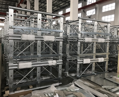 Customized Construction Scaffold Components