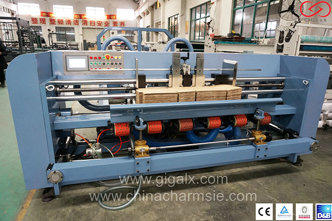 LX-FGO Offset Automatic Folding and Gluing Machine