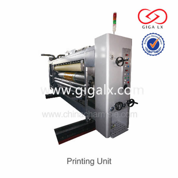 Carton Paper Box Printing Packing Machine GIGA LX-308 Full Automatic