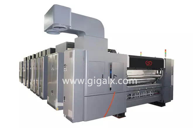 GIGA LX 707 Servo Control Of Corrugated Carton Box Packing Machine Price Good