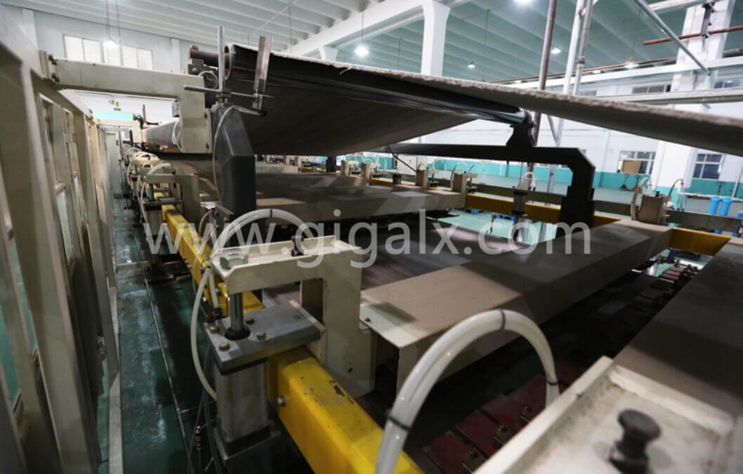 Main Drive in the Corrugated Cardboard Production Line