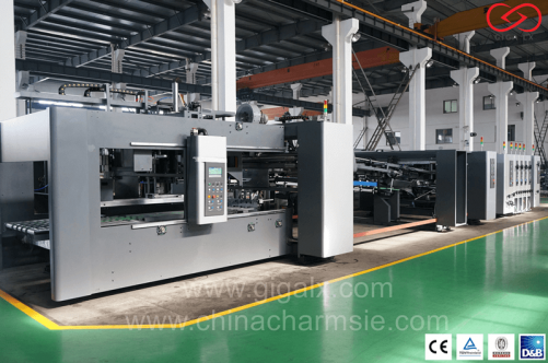 LX-FGA Automatic Folding & Gluing Machine ( Inline )