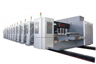 LX-708N Servo Synchronous Control Fixed Unit Width Flexo Printing and Die Cutter Machine