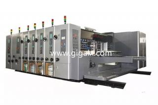 LX-308N Automatic Cardboard PP Board Flexo Printing with Slotting and Die Cutting Machine