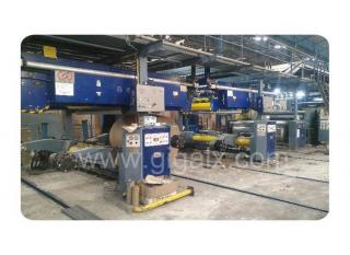 Thailand 5 Layers Carton Box Making Hydraulic Mill Roll Stand And Pre-heater And Single Facer