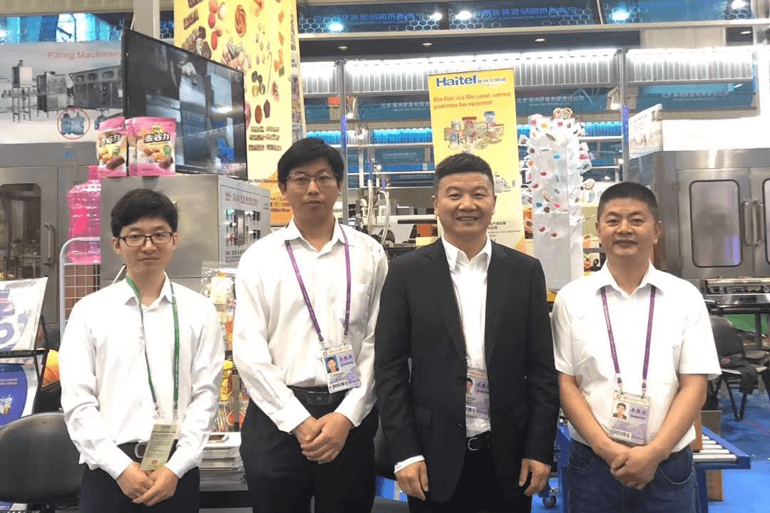 Haitel succeeded in the 2019 Canton Fair,high-quality machinery dedication, sensational scene!