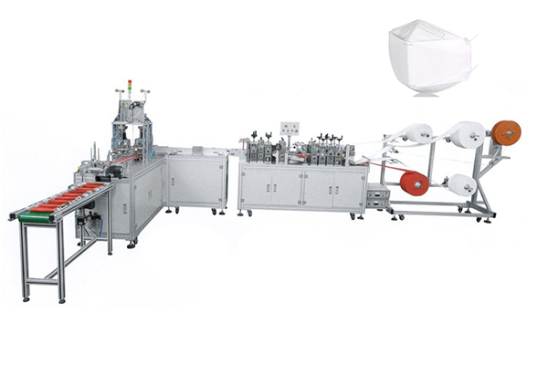 KF94 Willow Type (Fish Type) Mask Machine