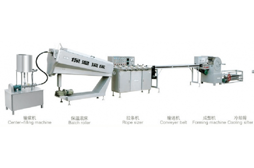 Sandwich Toffee Hard Candy Production Line HTL-TB1/B2