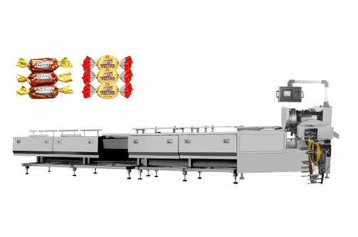 Chocolate Twisted Packaging Automatic Line HTL-1000-S360