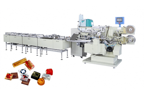 Chocolate Candy Folding Packaging Machine HTL-1000-Z360