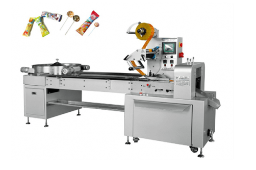 Spherical Lollipop Automatic Automatic Packaging Machine HTL-C800