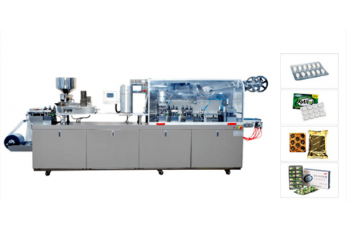 Flat Aluminum-Plastic Aluminum And Aluminum Blister Packaging Machine HTL-260D