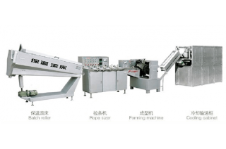 Sandwich Bubble Gum Big Baseball Candy Production Line HTL-T400/800