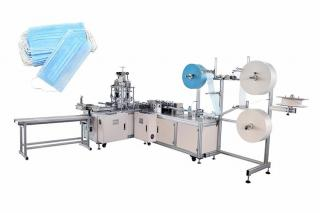 One drag one mask packaging and code spraying disinfection line