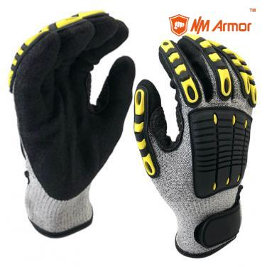 EN388:4544EP Anti-Vibration Protective Safety Work Glove-DY1350AC-H