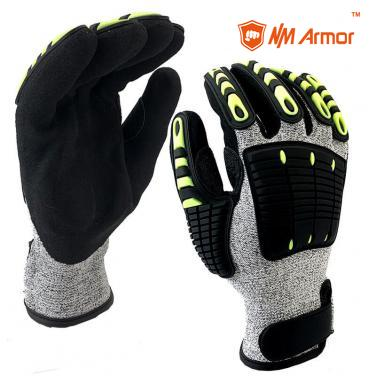 EN388:4544EP Anti Vibration Oil Resistant Work Glove Supply-DY1350AC-H
